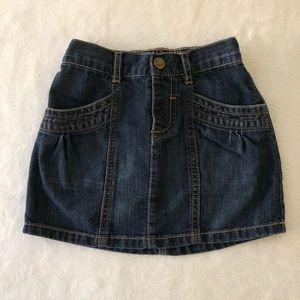 🍂3/$22🍂 Old navy jean skirt 4T denim